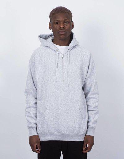 Polar Halfzip Hoodie Sports Grey