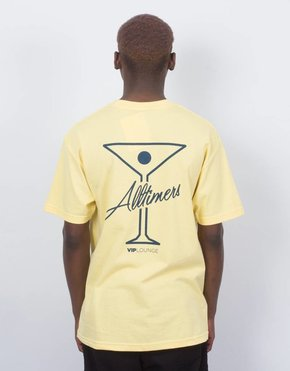 Alltimers Alltimers logo tee yellow