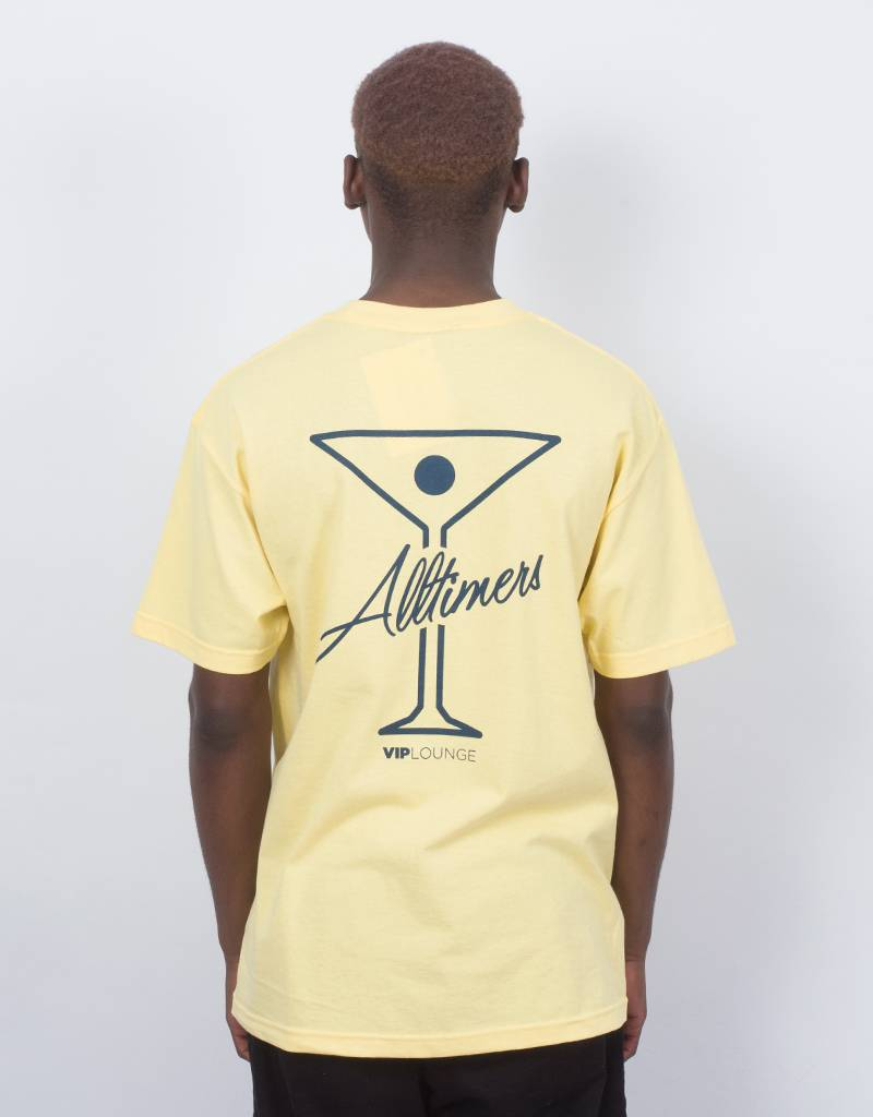 Alltimers logo tee yellow