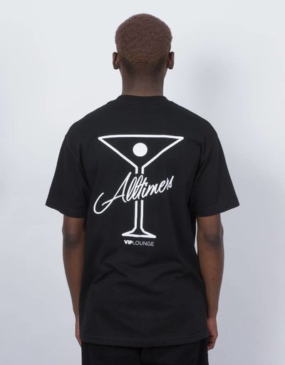Alltimers logo tee black