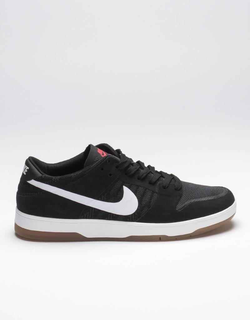 Nike SB zoom dunk low elite black/white/gum