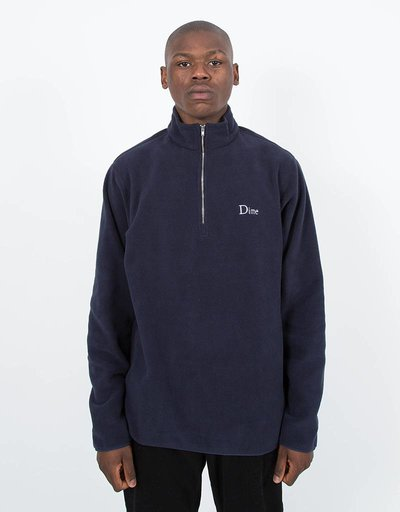 Dime Micro Fleece Halfzip Navy