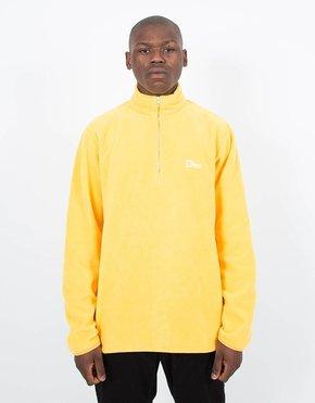Dime Dime Micro Fleece Halfzip Yellow