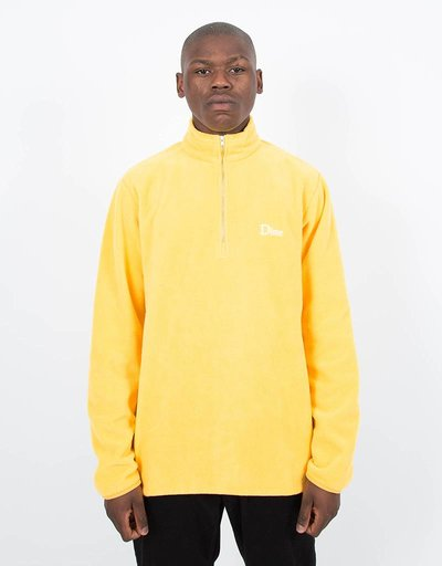 Dime Micro Fleece Halfzip Yellow