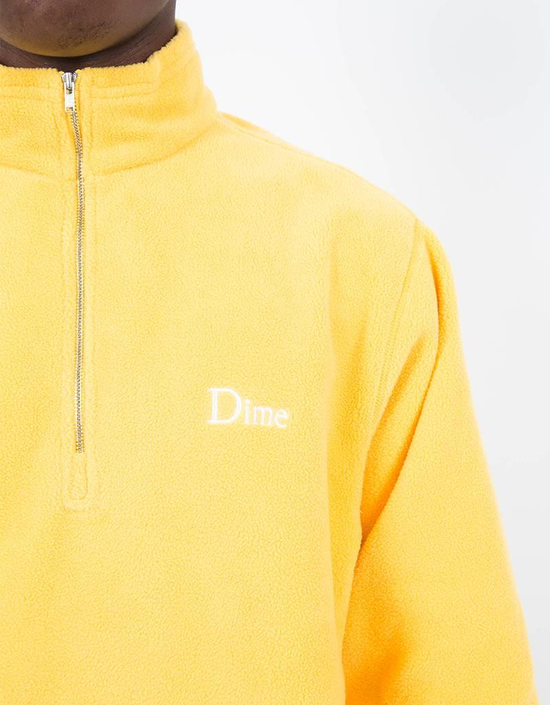 Dime Micro Fleece Halfzip Yellow