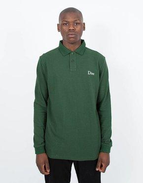 Dime Dime Polo Longsleeve T-Shirt Green