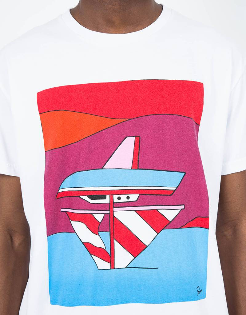 Parra Wrong Sail T-Shirt White