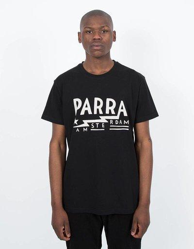 Parra Amsterdam T-Shirt Black