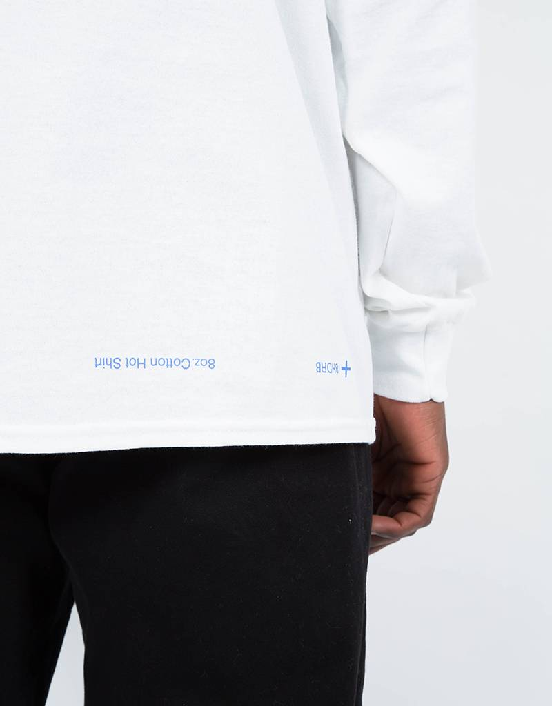 Call Me 917 Coffee Longsleeve T-Shirt White