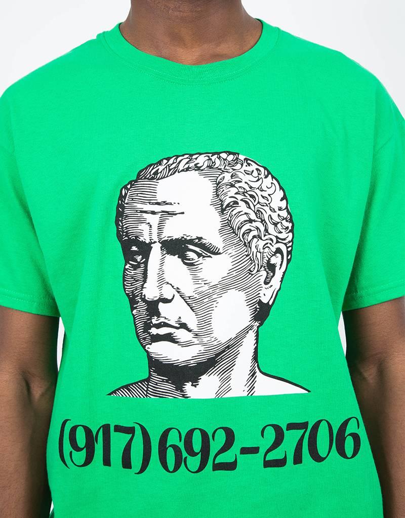 Call Me 917 Caesar Salad T-Shirt Green