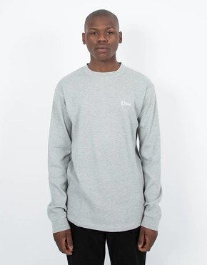 Dime Dime Thermal Longsleeve T-Shirt Heather Gray