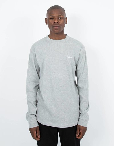 Dime Thermal Longsleeve T-Shirt Heather Gray
