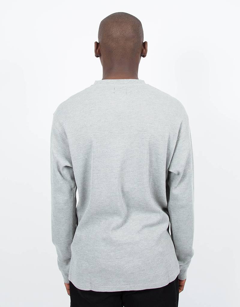 Dime Thermal Longsleeve T-Shirt Heather Gray