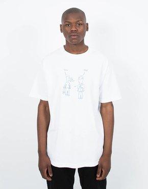 Dime Dime World Peace T-Shirt White