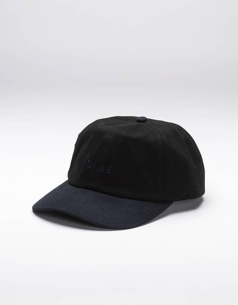 Dime Short Brim Sixpanel Cap Black/Navy