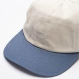 Dime Short Brim Sixpanel Cap White/Blue