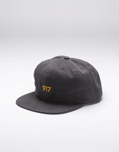 Call Me 917 Area Code Cap Black