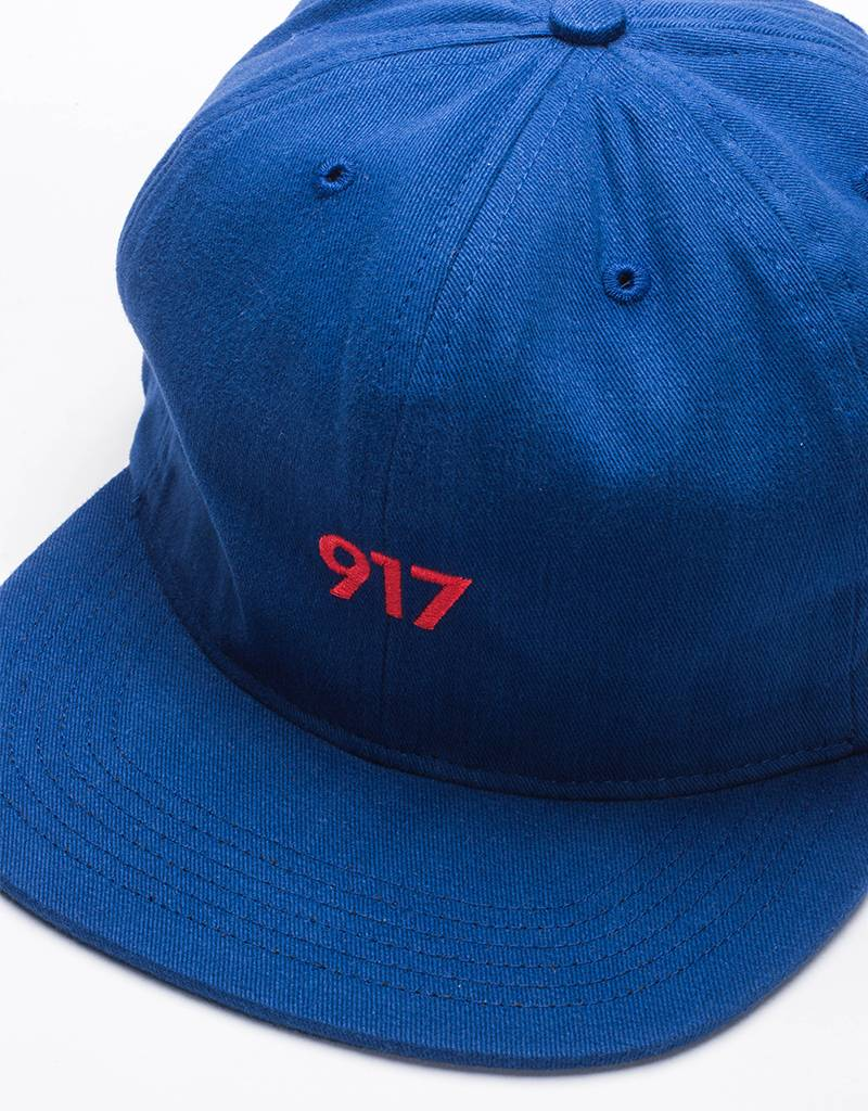 Call Me 917 Area Code Cap Blue