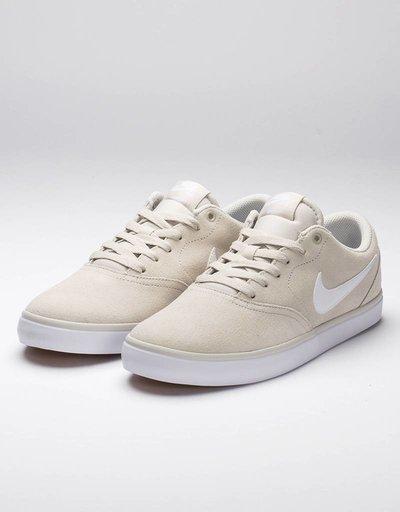 Nike SB Check Solar Light Bone/White