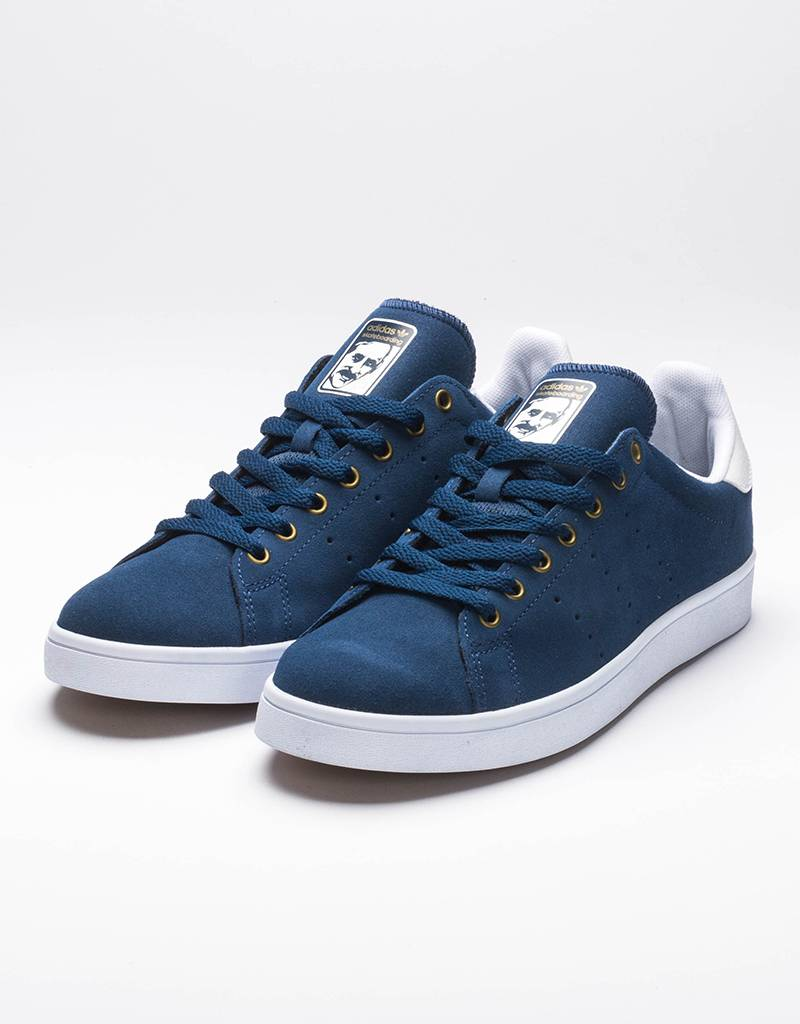 adidas Stan Smith Vulc Mystery Blue/White/Gold