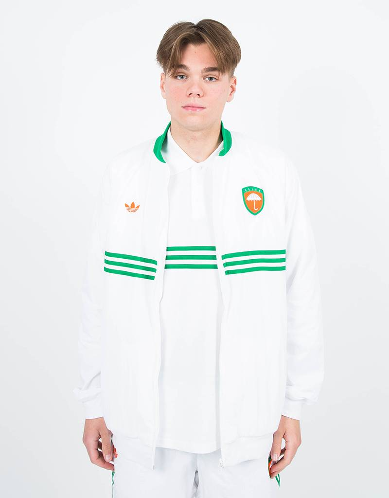adidas X helas jacket white