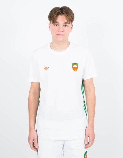 adidas X helas T-shirt white