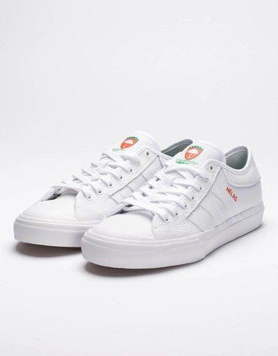 adidas x helas matchcourt white/white