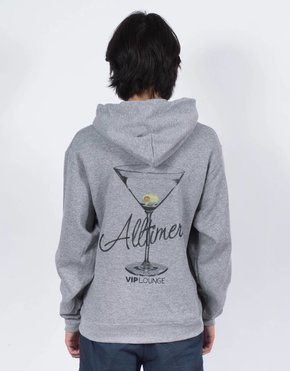 Alltimers Alltimers Watercolor Logo Hoodie Grey