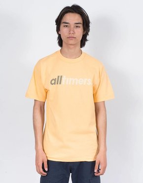 Alltimers Alltimers Fast T-Shirt Peach