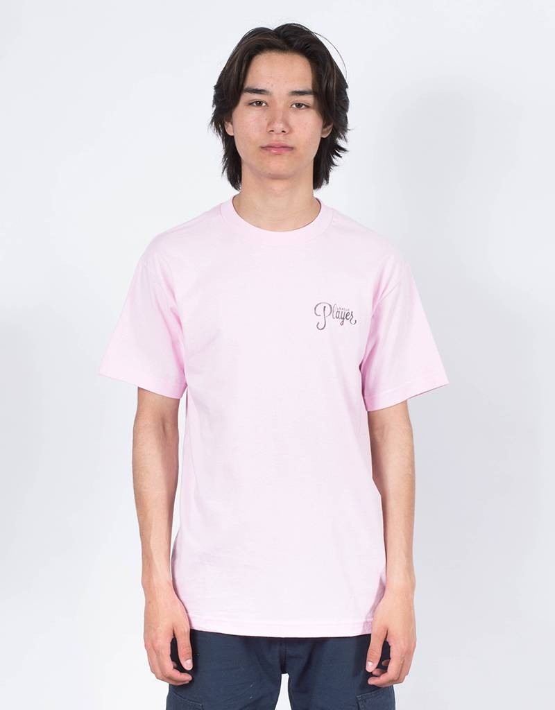 Alltimers Watercolor Logo T-Shirt Pink