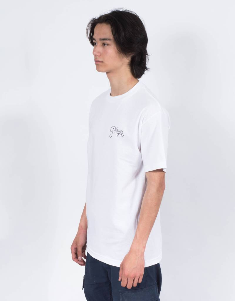 Alltimers Watercolor Logo T-Shirt White