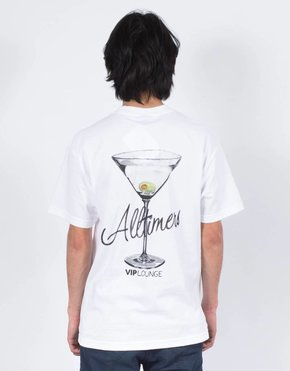 Alltimers Alltimers Watercolor Logo T-Shirt White
