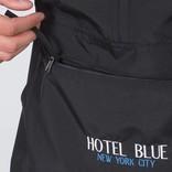 Hotel Blue Jacket Windbreaker black