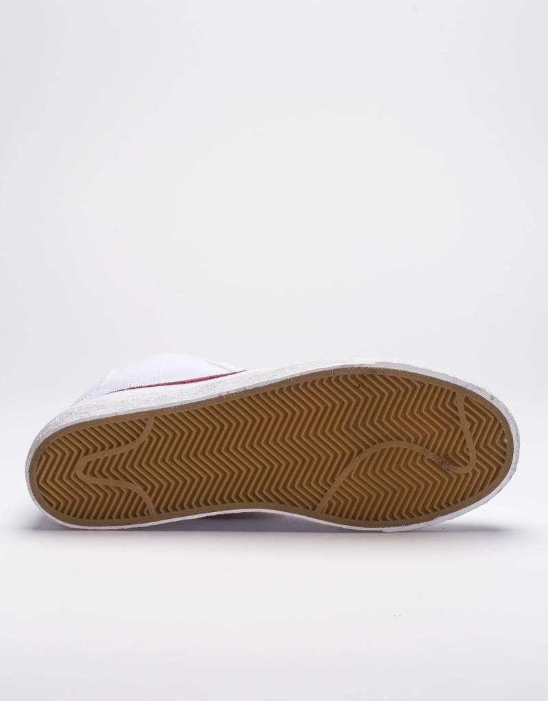 Nike SB zoom blazer mid canvas white/cedar