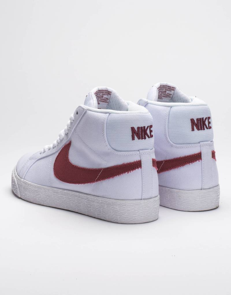 ... Nike SB zoom blazer mid canvas white/cedar