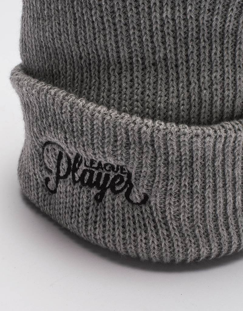 Alltimers league player beanie grey os