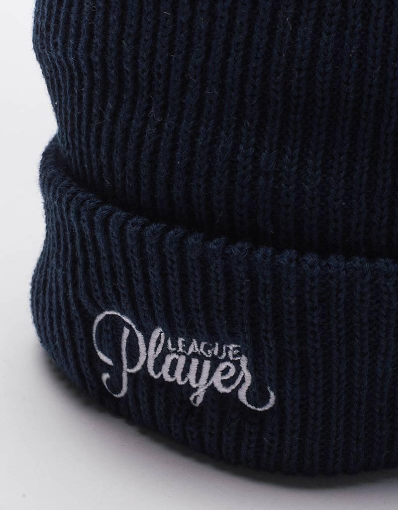 Alltimers league player beanie blue'ish os