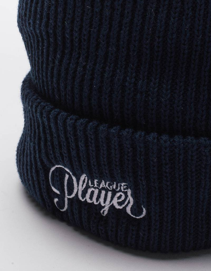 Alltimers league player beanie blue'ish
