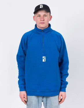 Poetic Collective Poetic Collective Minimalism Halfzip Blue