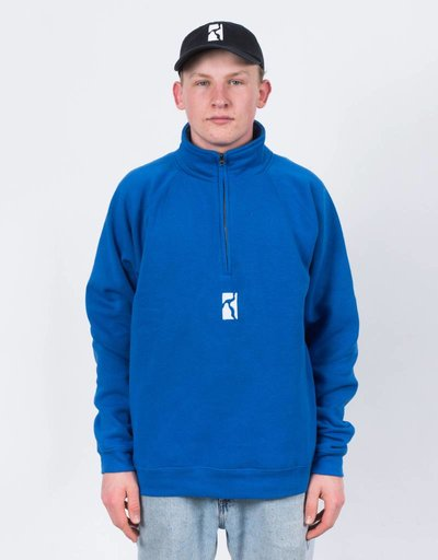 Poetic Collective Minimalism Halfzip Blue