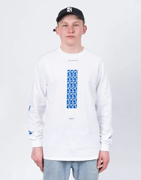 Poetic Collective Poetic Collective Repetition Longsleeve White/