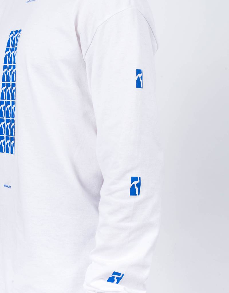 Poetic Collective Repetition Longsleeve White/
