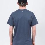Poetic Collective Minimalism T-Shirt Heather Navy