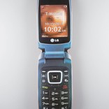 Alltimers flip phone black