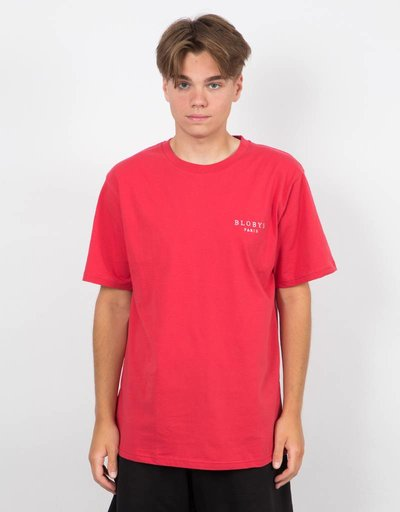 Blobys Paris T-shirt Red