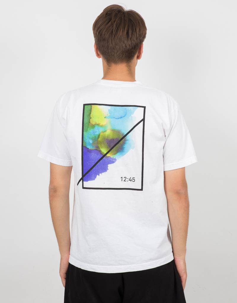 Numbers Watercolor Symbol T-Shirt White