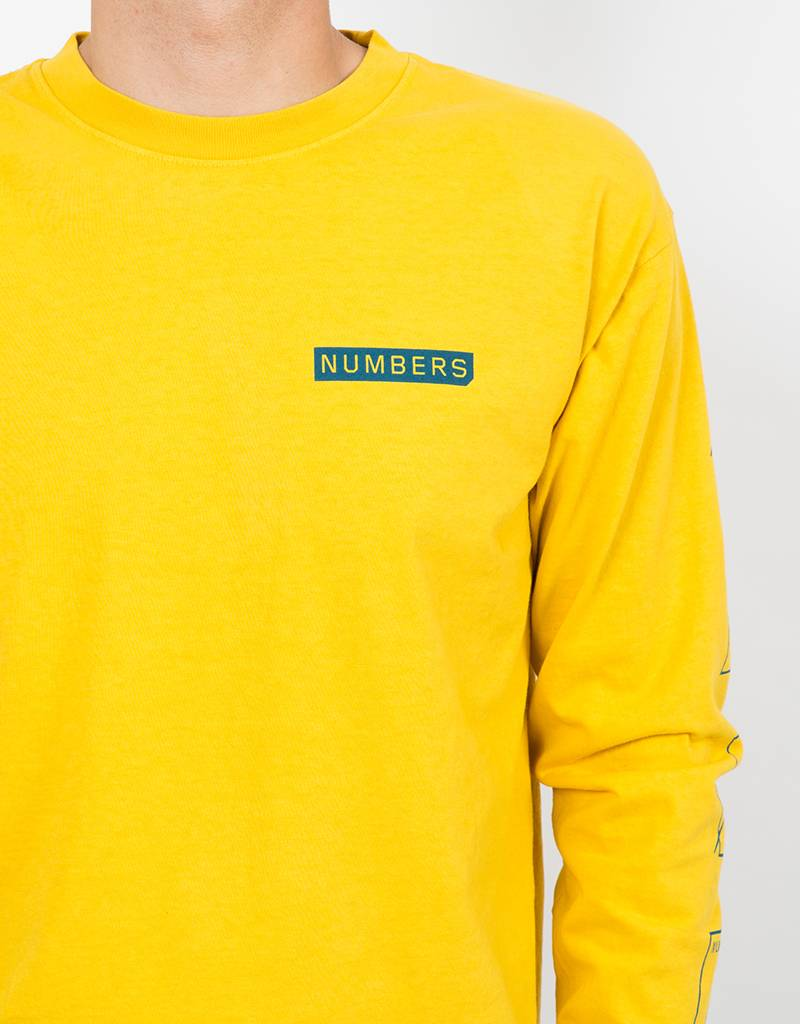 Numbers Assembly Longsleeve T-Shirt Spectra Yellow
