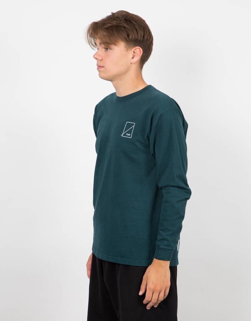 Numbers Wordmark Longsleeve T-Shirt Forest Pine