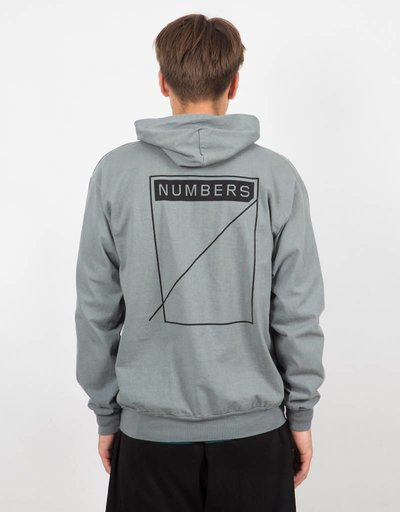 Numbers Edition Symbol Hooded Jersey Pullover Sage