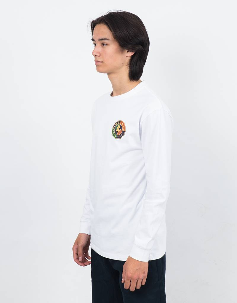 Hélas Polo Club Longsleeve T-Shirt White